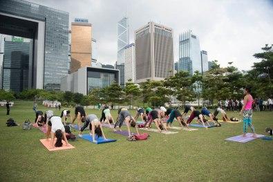 20150502 - Cora Tamar Park Yoga II - 044