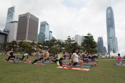 20150502 - Cora Tamar Park Yoga II - 074