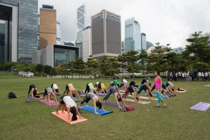 20150502 - Cora Tamar Park Yoga II - 095