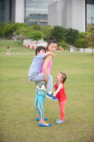 20150502 - Cora Tamar Park Yoga II - 1039