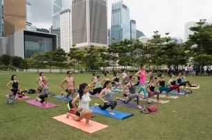 20150502 - Cora Tamar Park Yoga II - 111