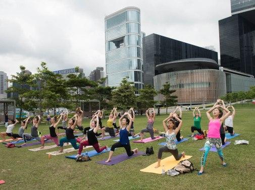 20150502 - Cora Tamar Park Yoga II - 122
