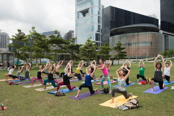 20150502 - Cora Tamar Park Yoga II - 128