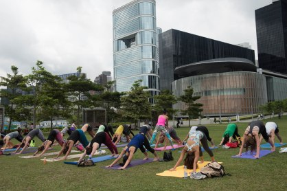20150502 - Cora Tamar Park Yoga II - 131