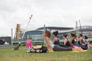 20150502 - Cora Tamar Park Yoga II - 154