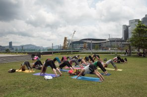 20150502 - Cora Tamar Park Yoga II - 155