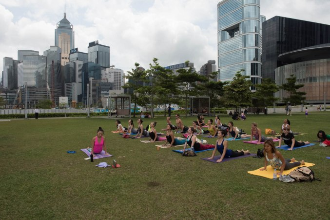 20150502 - Cora Tamar Park Yoga II - 162