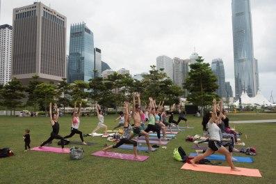 20150502 - Cora Tamar Park Yoga II - 165
