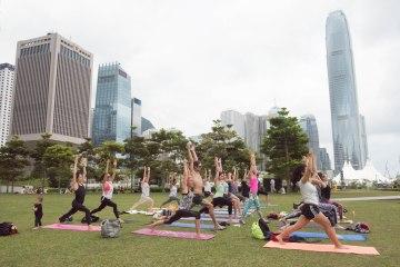 20150502 - Cora Tamar Park Yoga II - 171