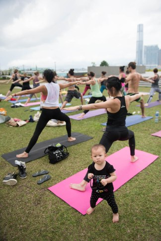 20150502 - Cora Tamar Park Yoga II - 178
