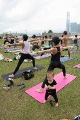 20150502 - Cora Tamar Park Yoga II - 187