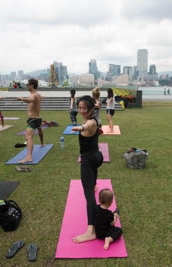 20150502 - Cora Tamar Park Yoga II - 189