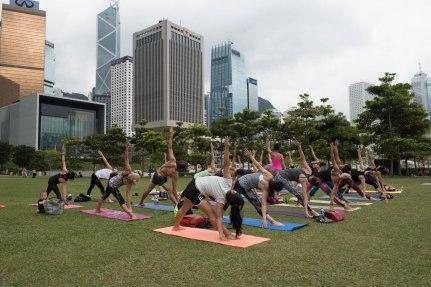 20150502 - Cora Tamar Park Yoga II - 199