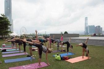 20150502 - Cora Tamar Park Yoga II - 205