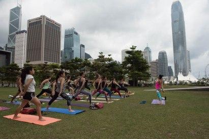 20150502 - Cora Tamar Park Yoga II - 210