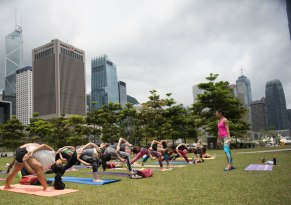 20150502 - Cora Tamar Park Yoga II - 232
