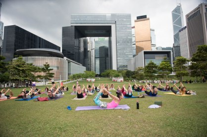 20150502 - Cora Tamar Park Yoga II - 242