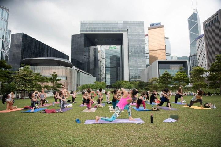 20150502 - Cora Tamar Park Yoga II - 257