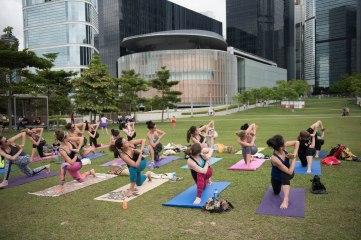 20150502 - Cora Tamar Park Yoga II - 260