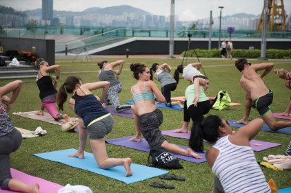 20150502 - Cora Tamar Park Yoga II - 277