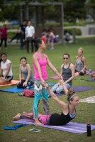 20150502 - Cora Tamar Park Yoga II - 307