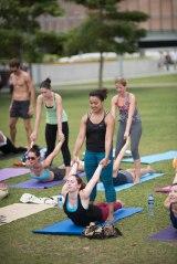 20150502 - Cora Tamar Park Yoga II - 320