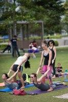 20150502 - Cora Tamar Park Yoga II - 337