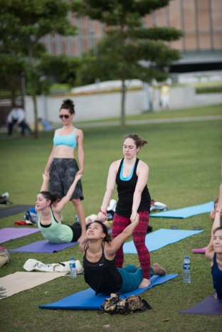20150502 - Cora Tamar Park Yoga II - 368