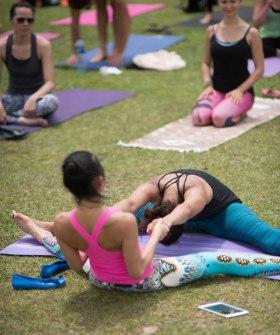 20150502 - Cora Tamar Park Yoga II - 392