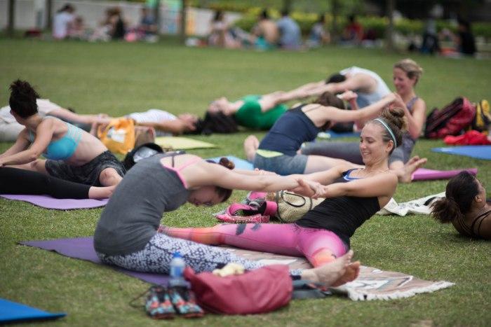 20150502 - Cora Tamar Park Yoga II - 413