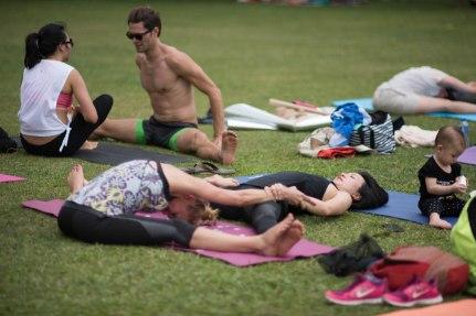 20150502 - Cora Tamar Park Yoga II - 432
