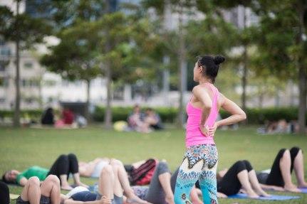 20150502 - Cora Tamar Park Yoga II - 449