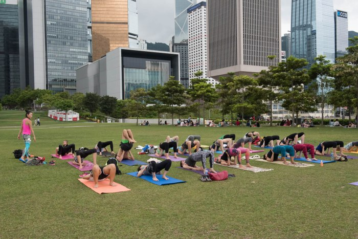 20150502 - Cora Tamar Park Yoga II - 451
