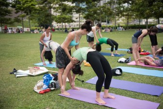 20150502 - Cora Tamar Park Yoga II - 482