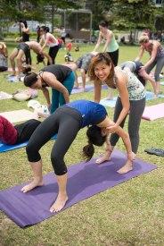 20150502 - Cora Tamar Park Yoga II - 511