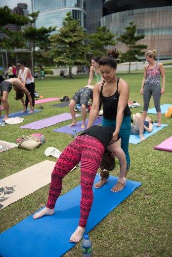 20150502 - Cora Tamar Park Yoga II - 519