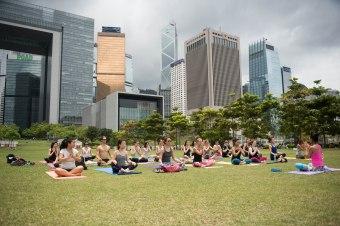 20150502 - Cora Tamar Park Yoga II - 537