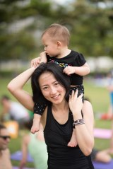 20150502 - Cora Tamar Park Yoga II - 544