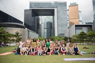 20150502 - Cora Tamar Park Yoga II - 545