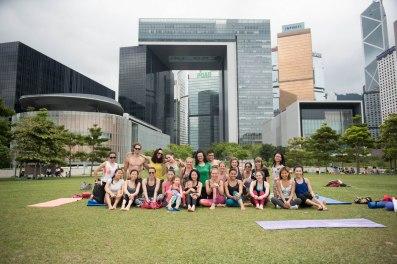20150502 - Cora Tamar Park Yoga II - 571