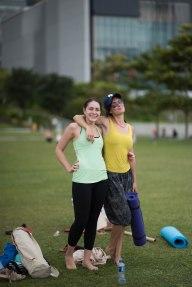 20150502 - Cora Tamar Park Yoga II - 604