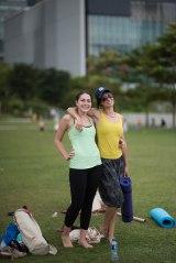 20150502 - Cora Tamar Park Yoga II - 606