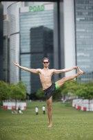 20150502 - Cora Tamar Park Yoga II - 657