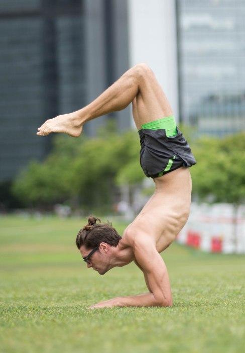20150502 - Cora Tamar Park Yoga II - 676
