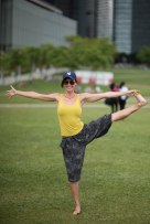 20150502 - Cora Tamar Park Yoga II - 695