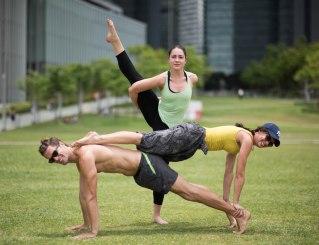 20150502 - Cora Tamar Park Yoga II - 706