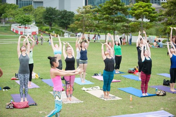 20150502 - Cora Tamar Park Yoga II - 809