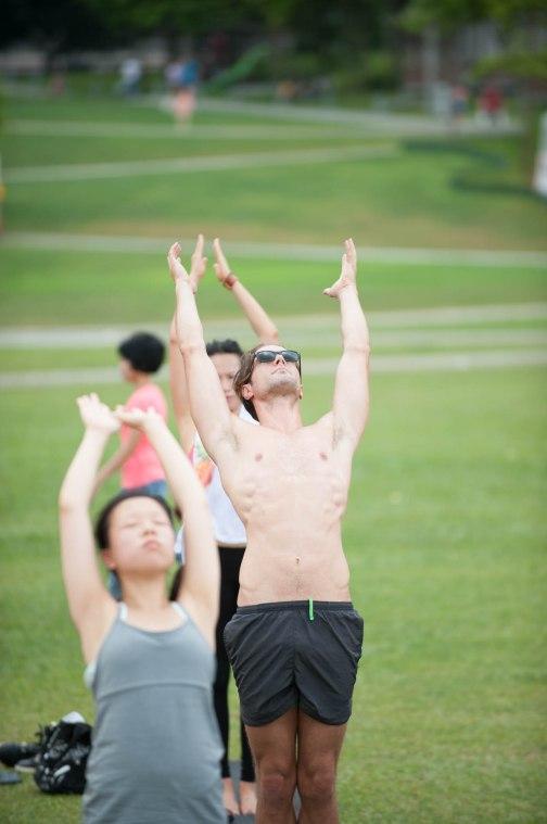 20150502 - Cora Tamar Park Yoga II - 825
