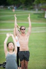 20150502 - Cora Tamar Park Yoga II - 828
