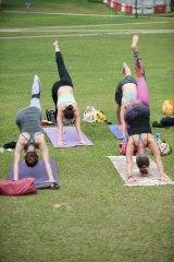 20150502 - Cora Tamar Park Yoga II - 836